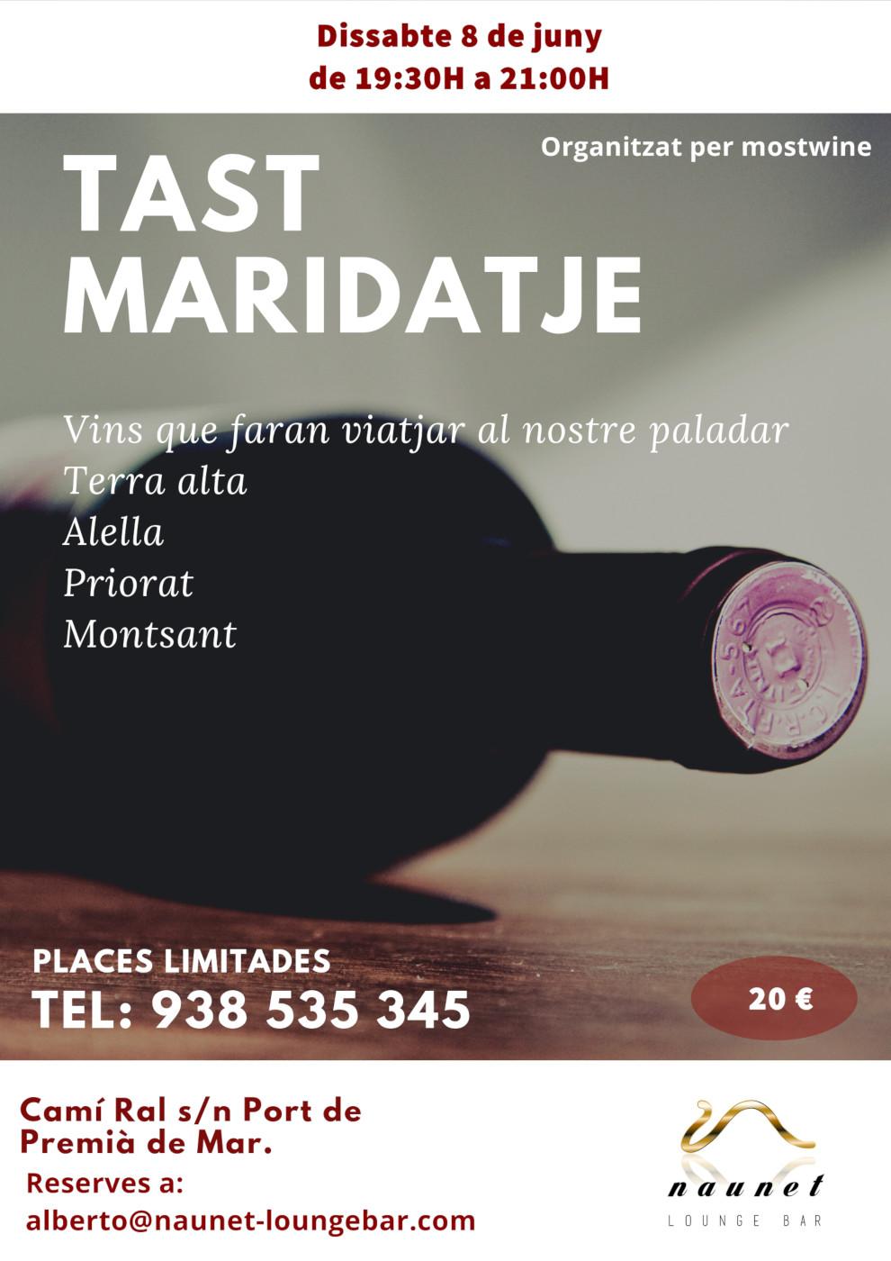 Tast Maridatje Naunet Lounge Bar